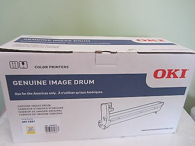 BRAND NEW OKI C831N C831DN Imaging Drum - 30000 Page (44844413) YELLOW