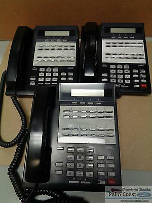 Nec Nitsuko Dx2Na-12Ctxh 92753 Phone Lot Of 5
