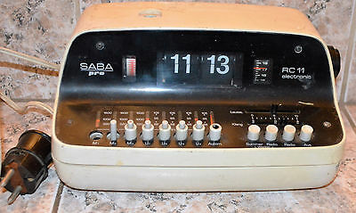 Vintege Germany Radio Saba Pro RC11 - For Parts Or Not Working
