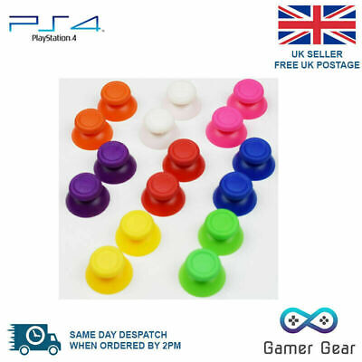 2 x PS4 Controller Analog Thumb Sticks Grips Replacements