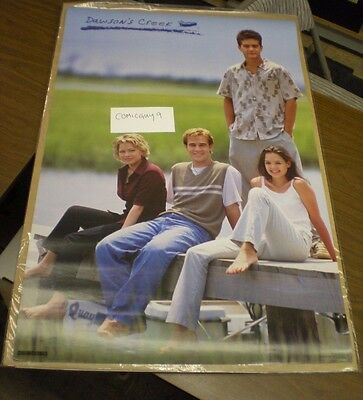 Dawson's Creek Poster w/ JOEY KATIE HOLMES vintage poster from 1998 (23 x 35 in)