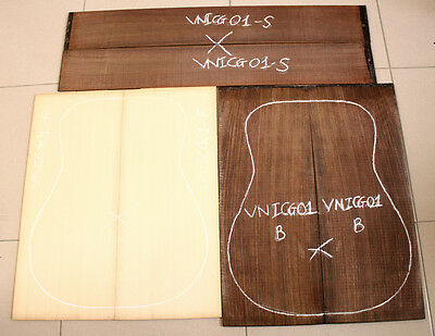 Solid spruce top Indian rosewood,a set for making guitar,beautiful grain,VNISG01