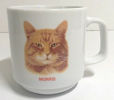 Vintage Morris the Cat Coffee Mug by Papel 9 Lives Advertising