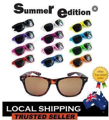 Classic Wayfarer Sunglasses Coloured Frame Men's / Women's Excellent Quality 1pc