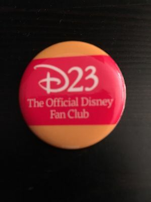 Authentic D23 Button from Disneyland D23 The Official Fanclub Of Disney