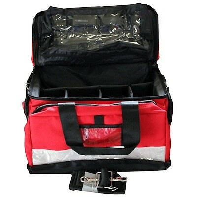 Empty Trauma Bag in Red