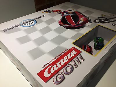 Carrera Go Mario Kart Wii 4.9m 1:43 Scale Slot Racing System 62286 - NEW