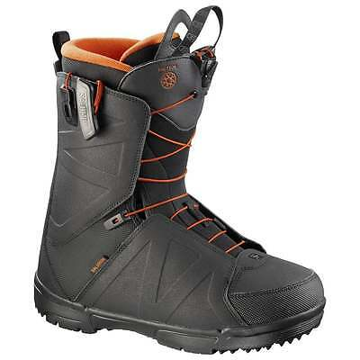 Salomon Faction Snowboard Boots 2017 - Black/Orange/Rust
