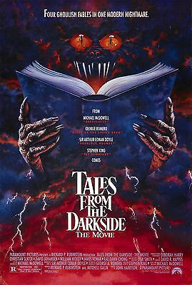 Tales From The Darkside Laminated A4  Mini Poster Stephen King