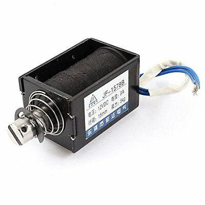 Uxcell Stroke 5 kg Force Push Pull Type Solenoid, Electromagnet DC 12V 8A, 15 mm