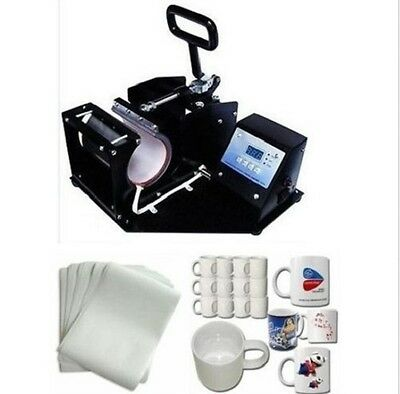 Digital Sublimation Mug Cup Heat Press Machine Package