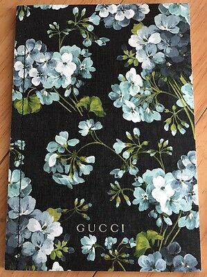 Auth Gucci GG Supreme With Blue Blooms Print Handbag Bag Purse Fashion Catalog