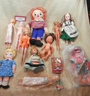 Mixed lot, vintage & modern fashion dolls, & others  (#12)