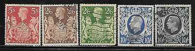 Great Britain 249-51A Used
