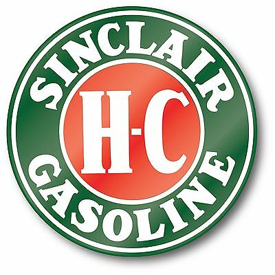 Sinclair Hc H-C Gasoline Oil Super High Gloss Outdoor 4 Inch Decal Sticker