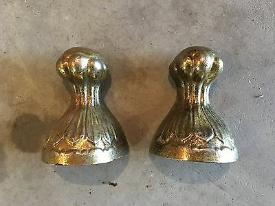 Brass Plated Antique Claw Foot - Set of 2 6""