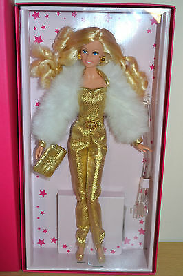 2015 Gold Label Superstar Forever Collection GOLDEN DREAM Barbie - BRAND NEW