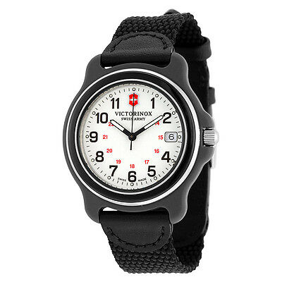Victorinox Swiss Quartz Men's Black Watch 249089 Original Analog Display 39 mm