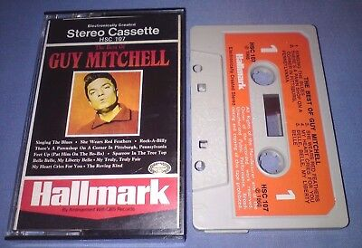 GUY MITCHELL THE BEST OF PAPER LABELS cassette tape album T2711