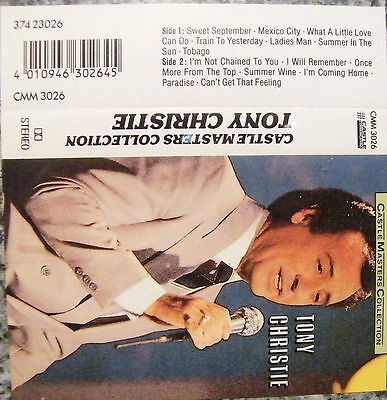 Musikkassette Tony Christie / Castle Masters Collection