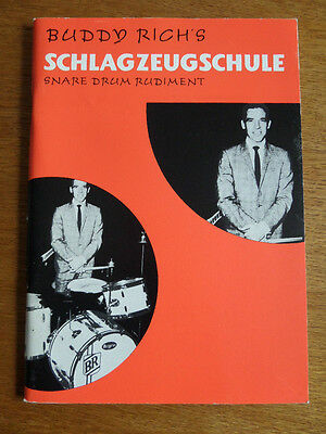 Schlagzeugschule Snare drum rudiment v. Buddy Rich´s*