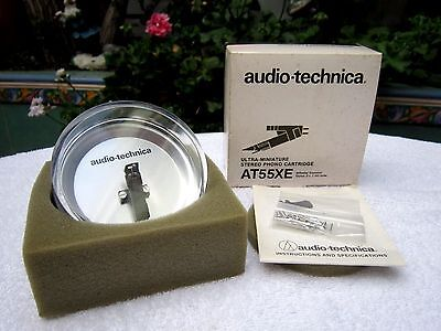 BRAND NEW - AUDIO-TECHNICA AT55XE - STEREO PHONO CARTRIDGE (NOS) - made in Japan