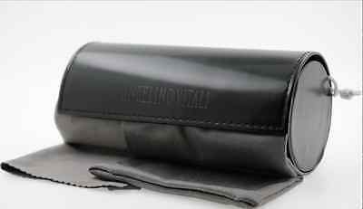 Fashionable large sunglasses / eyeglasses case w / pouch and cloth (No glasses)