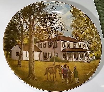 "AMERICAN COMMEMORATIVE COUNCIL GORHAM CHINA - LIBERTY HALL - 11"" Plate 1981"
