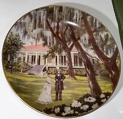 """AMERICAN COMMEMORATIVE COUNCIL GORHAM CHINA - BEAUVOIR  - 11"""" Plate 1973"""