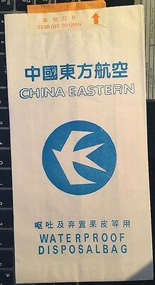 Sicknessbag China Eastern, Old Issue