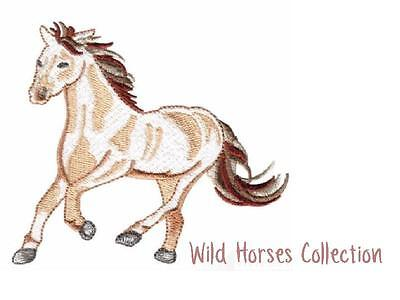 Wild Horses Collection  ~ Designs In Machine Embroidery On Cd