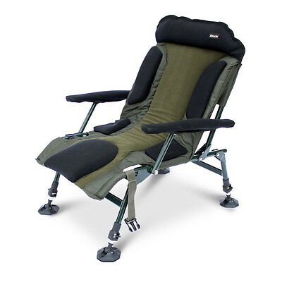 Abode Carp Fishing Camping Folding Easy Arm Lo-Armchair Sport Chair