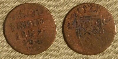 Error:  Netherlands East Indies 1839 1 Ct. Double Struck  EC24212
