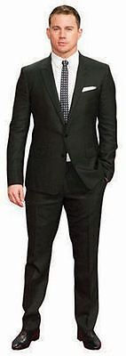Channing Tatum Cardboard Cutout (life size OR mini size). Standee. Stand Up.