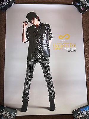 INFINITE Sungjong - Infinitize Showcase : The Mission poster SUPER RARE Myungsoo