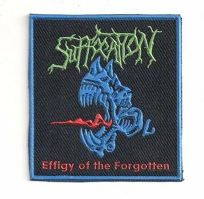 SUFFOCATION synthetic rubber patch RARE