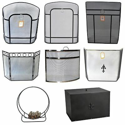 Crafters Fire Screen Cover Fireplace Fireguard Spark Guard Fireside Safety Panel
