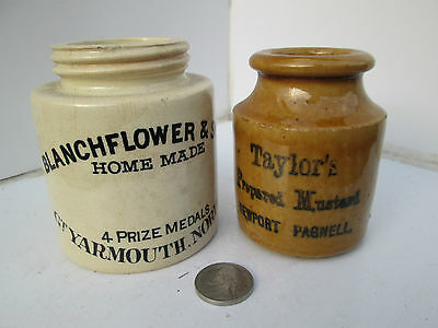 Taylors & Blanchflower Old Victorian Transfer Printed Farm House Crock Pots