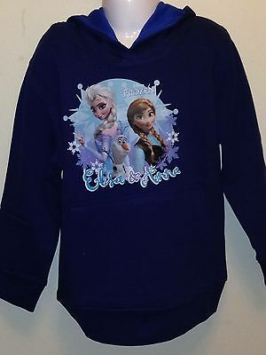 Disney frozen Hoody With Olaf New, Aged 7-8