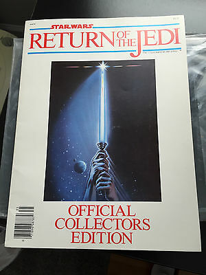STAR WARS Return of the Jedi (1983 Official Collectors Edition Magazine)