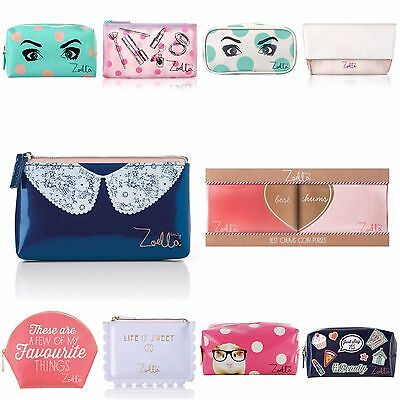 Zoella Beauty Makeup Bags and Cosmetic Purses