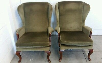 Pair of Parker Knoll PK 918 armchairs, fireside chairs