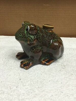 Hermitage Pottery Frog Shaped Oil Burner