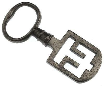18th/19th Century Odell Steel Latch Key - Edinburgh Tenement / French -  Ref.40