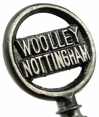 Rare Antique WOOLLEY of NOTTINGHAM Piano Key - c.1844-1914