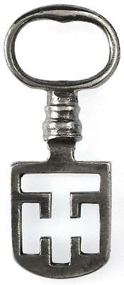 18th/19th Century Odell Steel Latch Key - Edinburgh Tenement - Ref.43