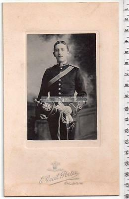 Royal Artillery Officer Portrait Photograph by E.C.Porter of Ealing - Military