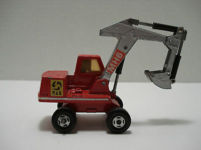 Matchbox King Size Series O & K Excavator  # K-1-C Made In England 1970