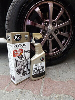 ROTON 700ml K2 BLOOD ALLOY WHEEL CAR PAINT CLEANER IRON REMOVER CONTAMINANT