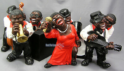 Musiker Band Jazz Swing Rock Deko Dekoration Bluse Figur Figuren Statuen Musik
